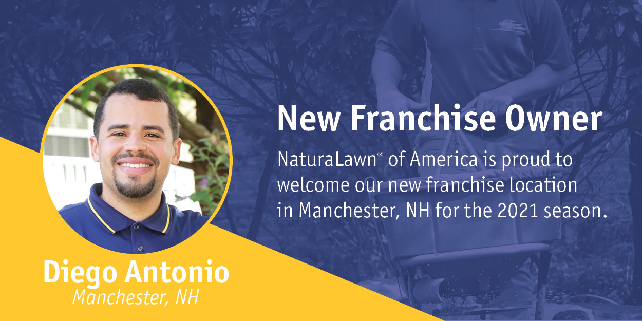 NaturaLawn or America Welcomes New Franchise Owner Diego Antonio in Manchester, NH